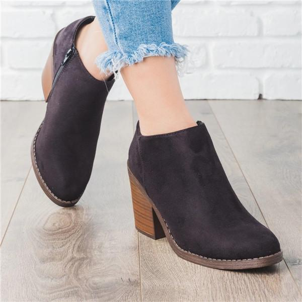 Suremoda Fashion Ankle Booties