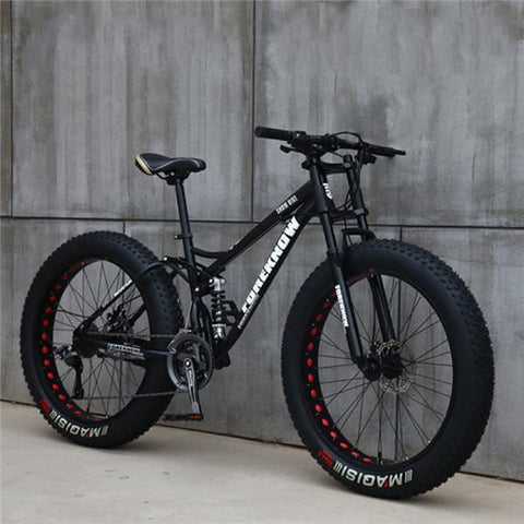 Variable Speed Multi-speed Off-road Wide Tire Fat Tires Snow Bike Beach Mountain Bike