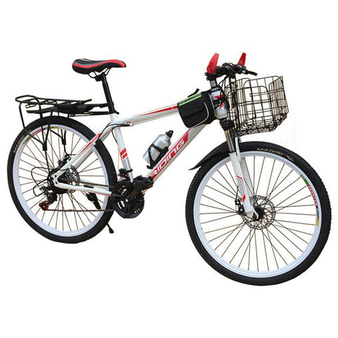 Variable Speed Mountain Bike for Men and Women, 22-26-Inch Wheels