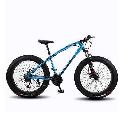 Adult Mountain Bike Variable Speed Off-Road Bike Fat Tire Snow Bike Atv Bicycle, Wheel Size
