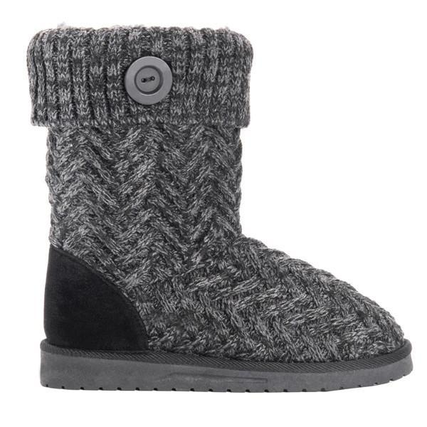Suremoda Indoor Sweater Knit Ankle Boots Slippers.