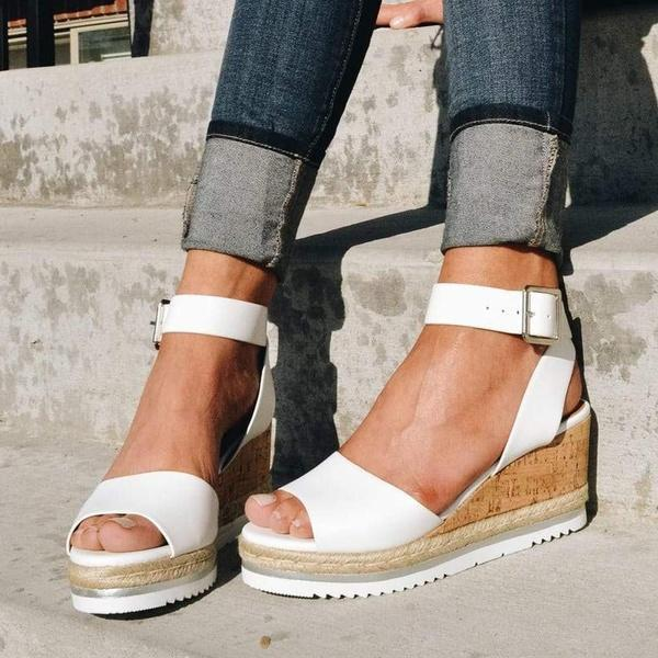 Suremoda Casual Daily Comfy Wedges
