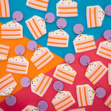 Load image into Gallery viewer, Cake Dangles - Fat Mango Creative
