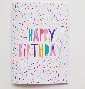 Birthday cards 3 pack - Whimsy Kaleidoscope
