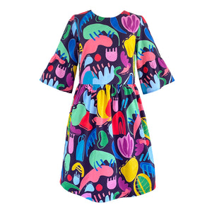 Miss Squiggle Dress