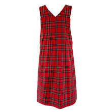Load image into Gallery viewer, Mince tartan Pinafore