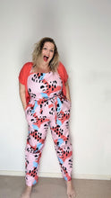 Load image into Gallery viewer, Pinky Palooza Pants Playsuit