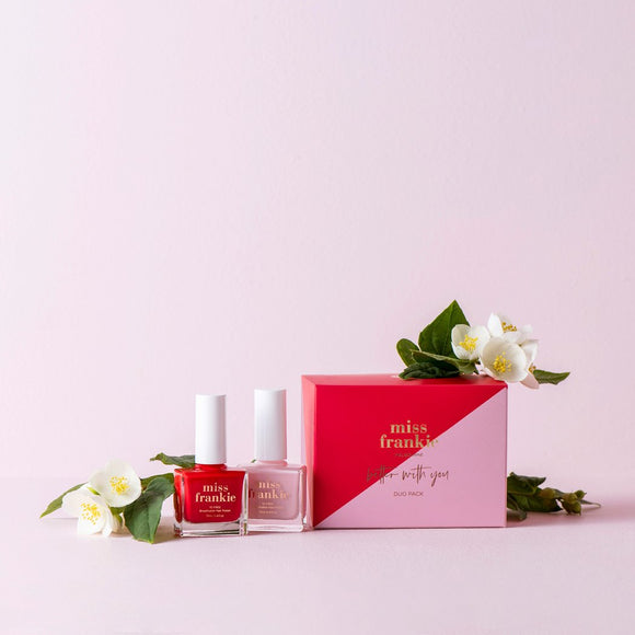 Better with you nail polish duo pack - Miss Frankie