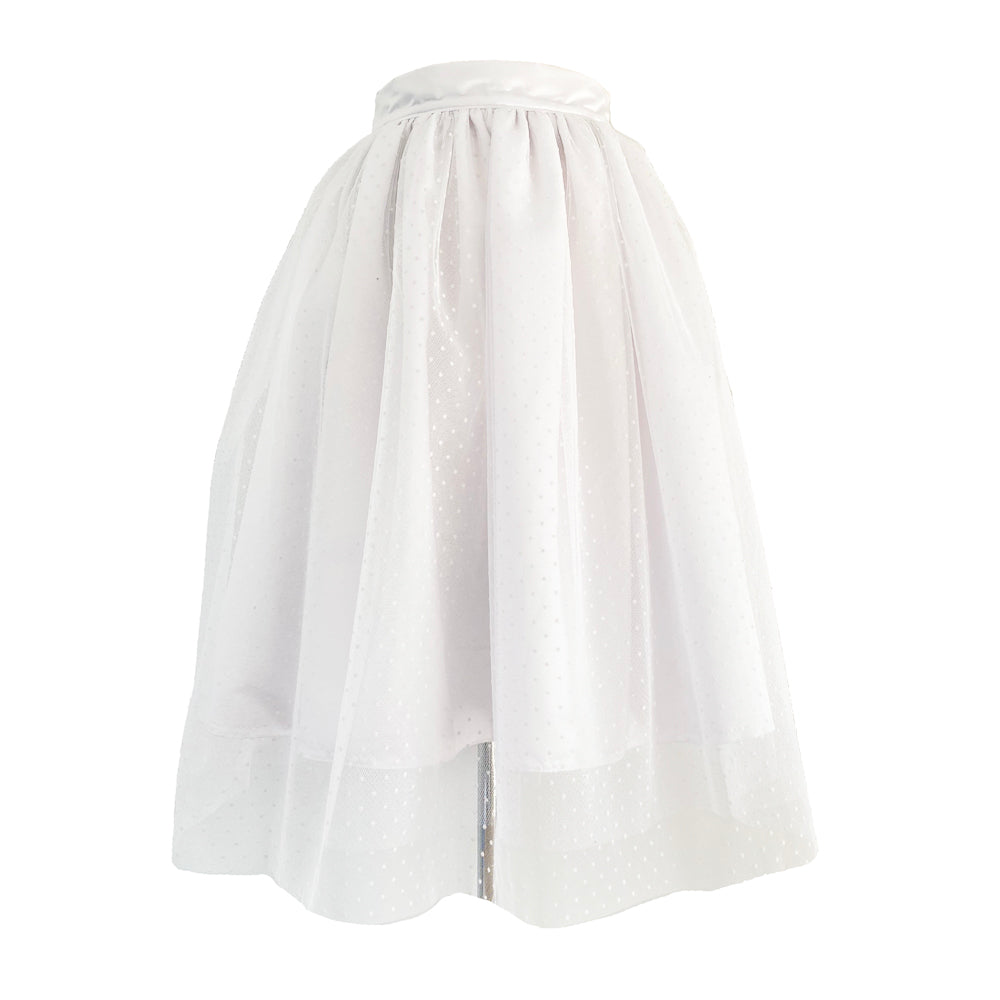Twist and shout Skirt - White
