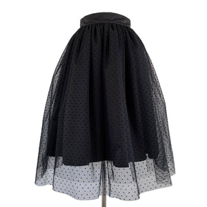 Twist and shout Skirt - Black