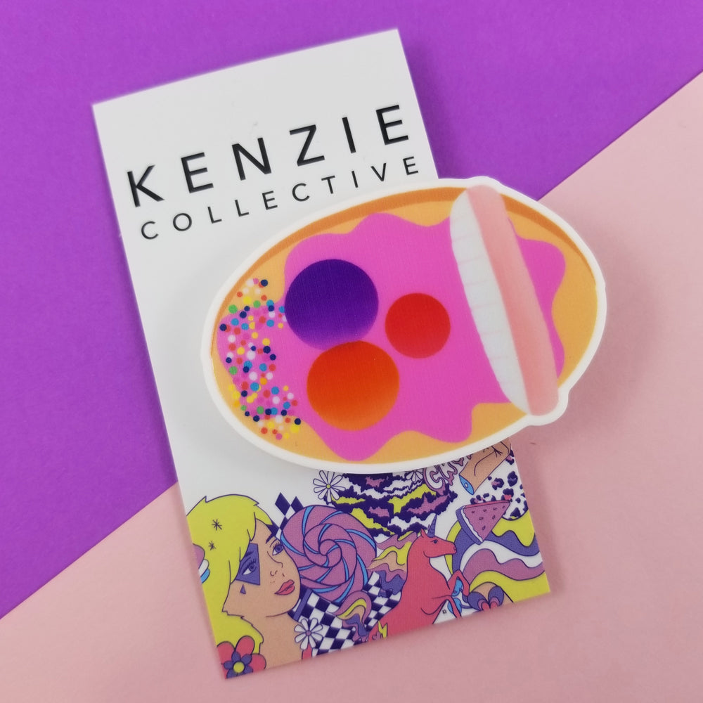 Teethy mouthy hair clip - Kenzie Collective