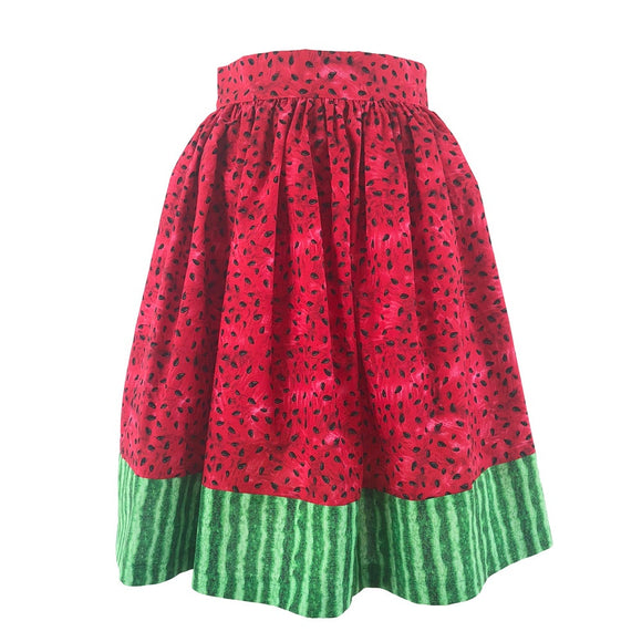 Watermelon Wednesday Skirt