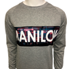 Neon Front Sweatshirt-Shop Manilow