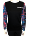 Neon Sleeve Black Sweatshirt - Shop Manilow - Barry Manilow