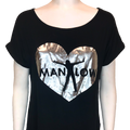 Tunic Foil Heart Shirt - Shop Manilow - Barry Manilow