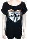 Tunic Foil Heart Shirt-Shop Manilow