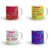 MANILOW Neon Titles Mug-Shop Manilow