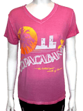 Copacabana Pink V-Neck-Shop Manilow