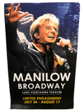 MANILOW Broadway Poster-Shop Manilow