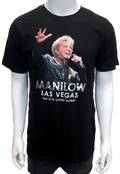 Manilow Las Vegas Foil Picture Shirt-Shop Manilow