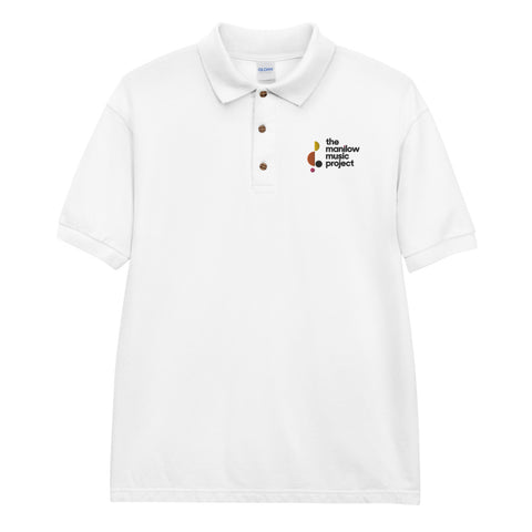 MMP Embroidered Polo Shirt-Shop Manilow