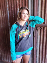 Load image into Gallery viewer, Sweatshirt Hoodie - Serape Buffalo