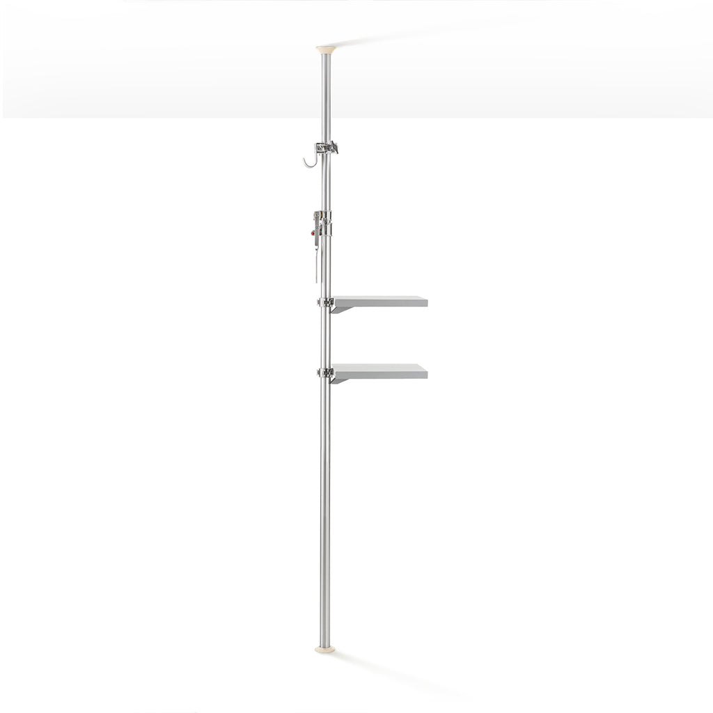 ARIANA Autopole Shelves and Hook