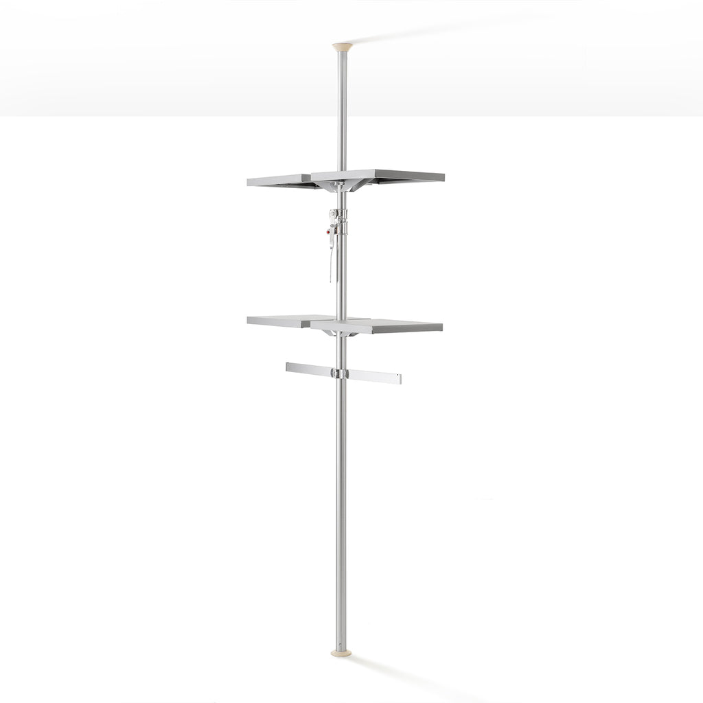 AUTUMN Autopole Shelves and Hang bars
