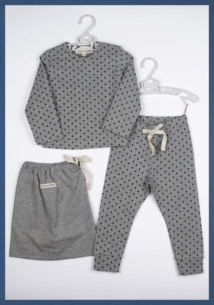 Tilly Set Grey