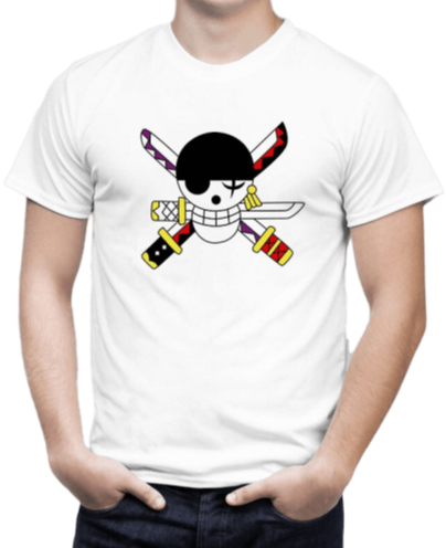 T-Shirt One Piece <br> Logo Zoro