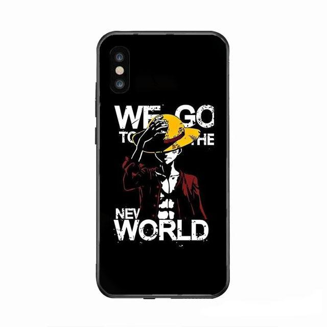 Coque One Piece Iphone <br> Nouveau Monde
