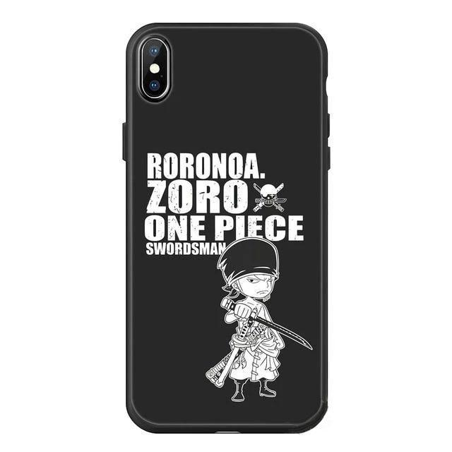 Coque iPhone One Piece Roronoa Zoro