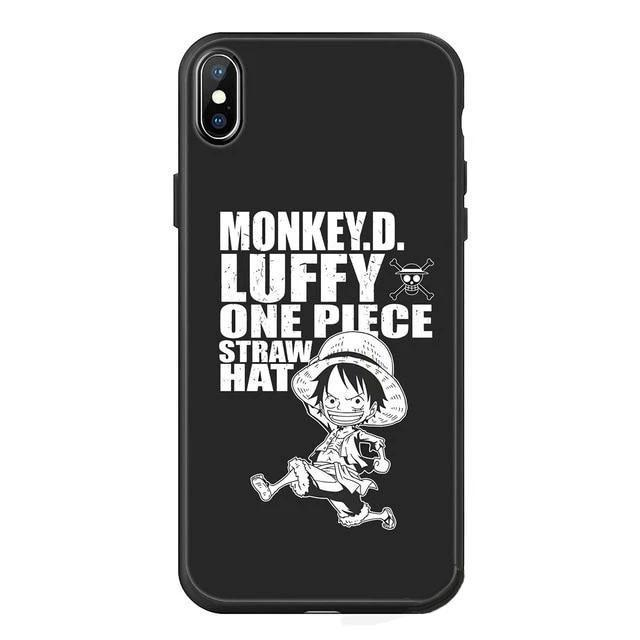 Coque One Piece Iphone <br> Luffy