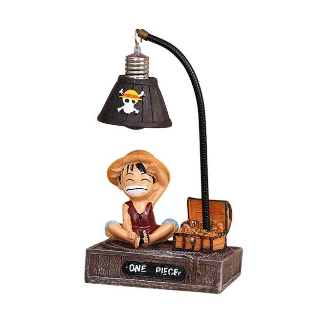 Lampe de Chevet One Piece <br> Luffy