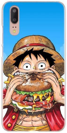 Coque One Piece Huawei <br> Luffy Goinfre