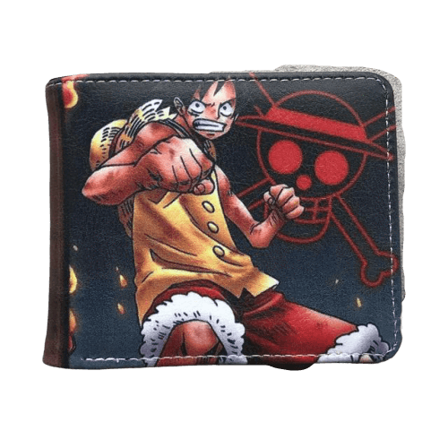 Portefeuille One Piece <br> Luffy & Jolly Roger