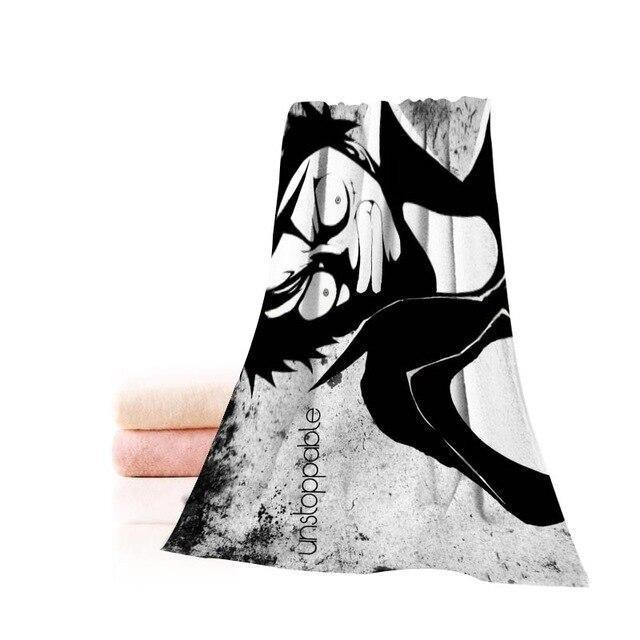 Serviette de Plage One Piece Rage de Luffy