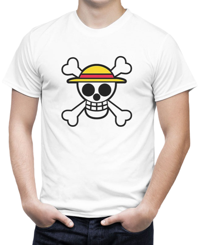T-Shirt One Piece <br> Logo Luffy