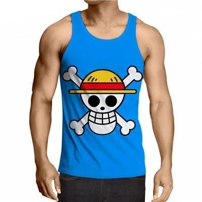 Jolly Roger One Piece Débardeur