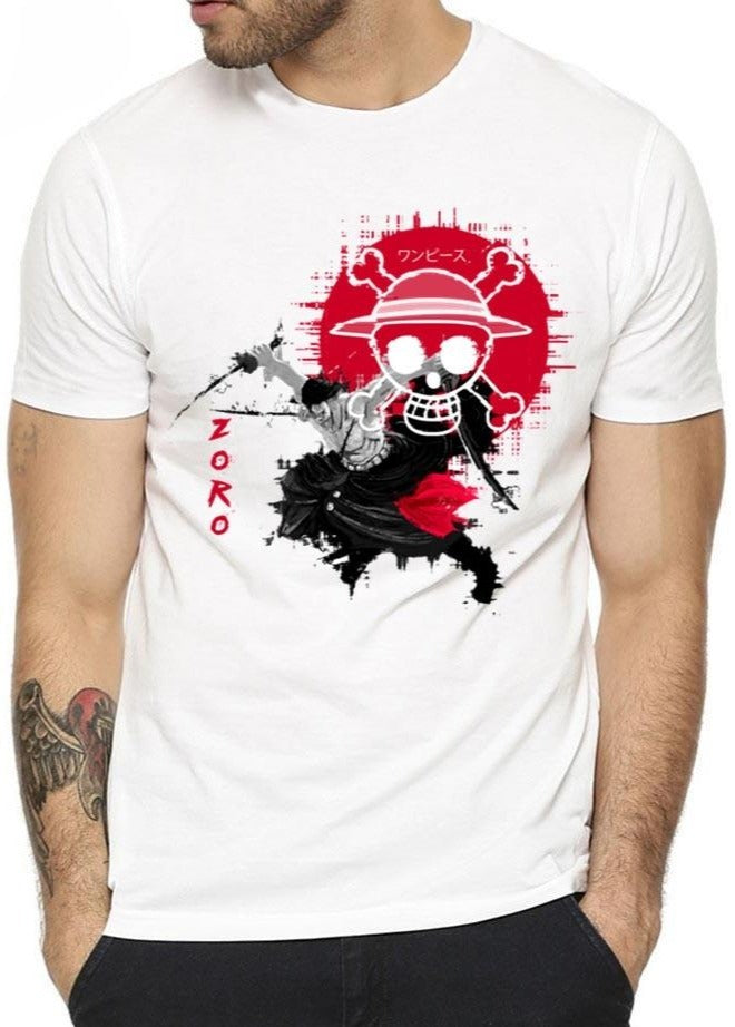 T-Shirt One Piece <br> Zoro Demon Slash