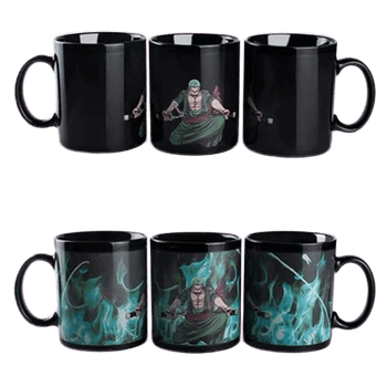 Mug Thermosensible One Piece <br> Zoro l'épéiste