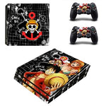 Stickers PS4 One Piece Luffy - Nami - Chopper