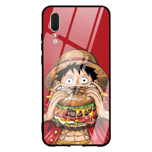 Coque One Piece Huawei <br> Luffy Morfal (Verre Trempé)
