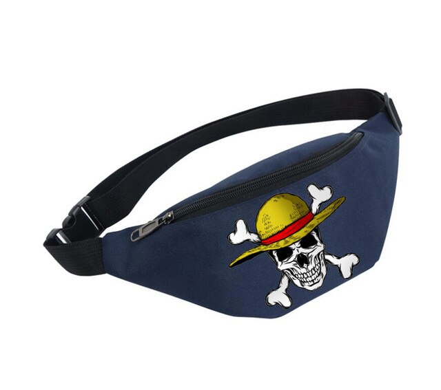Sacoche Banane One Piece <br> Jolly Roger Luffy