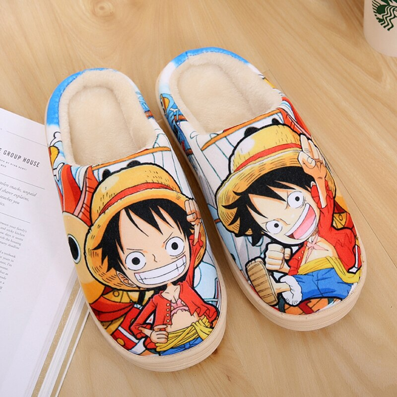 Chausson One Piece <br> Mugiwara No Luffy