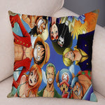 Housse de Coussin One Piece Mugiwara no Luffy