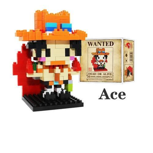 NanoBlock One Piece <br> Ace