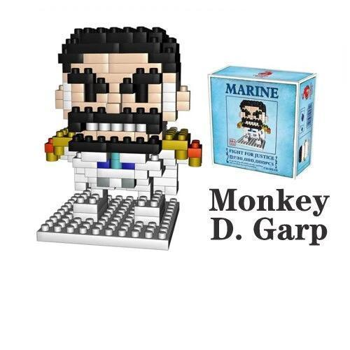 NanoBlock One Piece <br> Monkey D. Garp