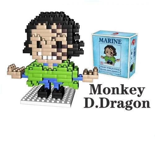 NanoBlock One Piece <br> Monkey D. Dragon