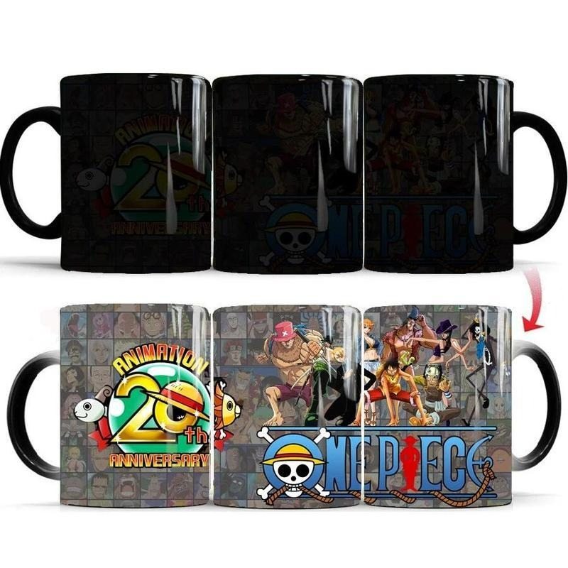 Mug Thermosensible One Piece <br> Anniversaire